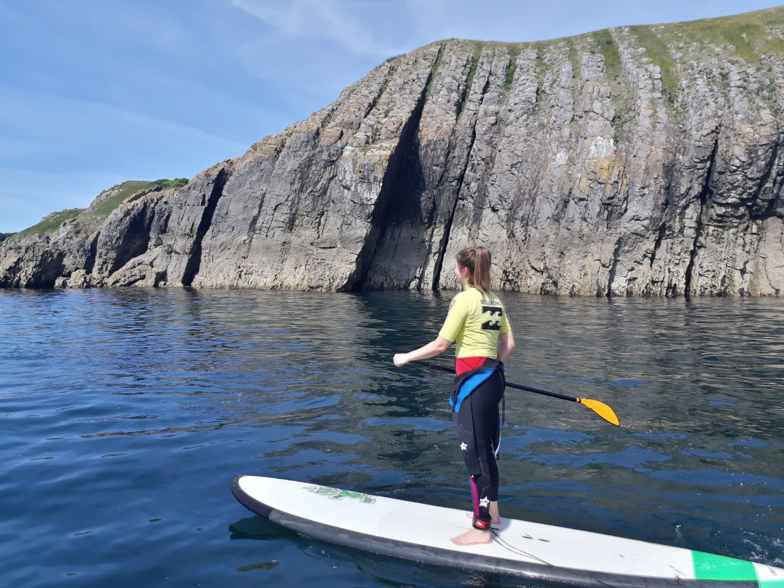 Stand Up Paddle Board Pembrokeshire |Paddle Boarding Saundersfoot