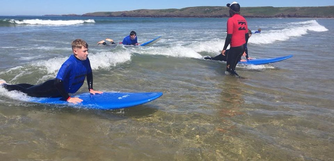 Surfing Lessons Pembrokeshire | Surf Lessons For Beginners