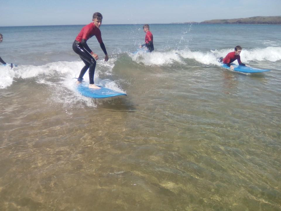 Surfing Lessons Newgale - Pembrokeshire | Family Surfing Course