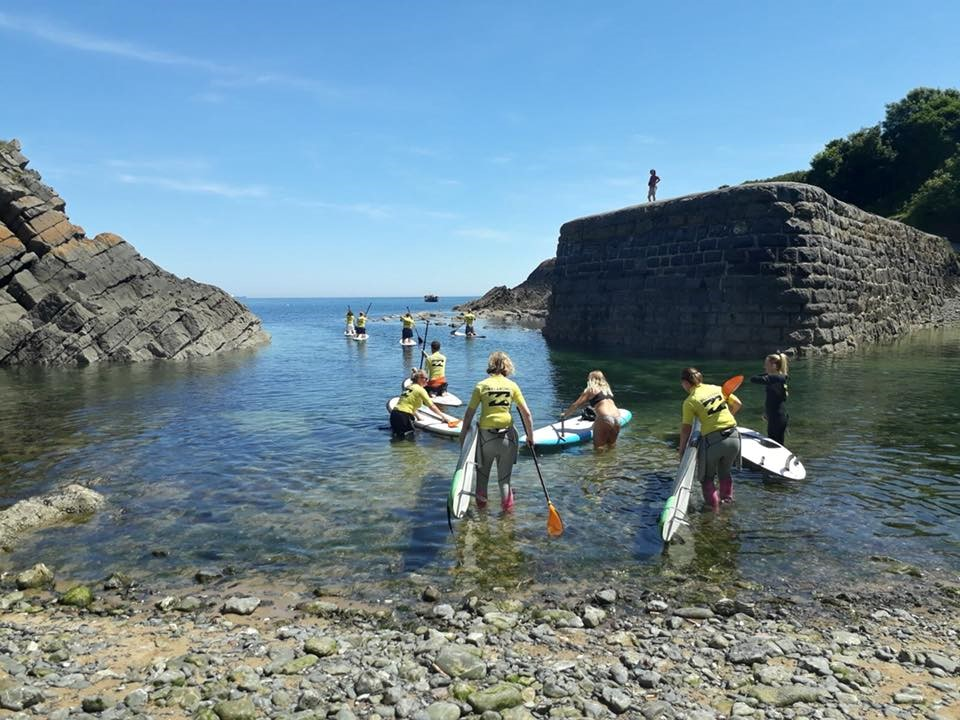 Paddle Boarding Courses Around Tenby