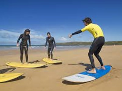 Beginner Surf Lessons in Pembrokeshire, Wales