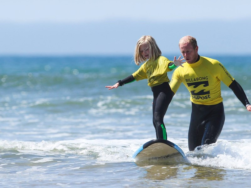 Surf Lessons in Pembrokeshire, Wales